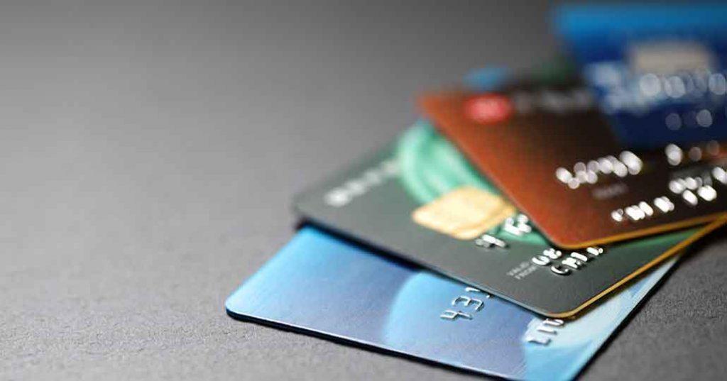 mehrere Geldkarten